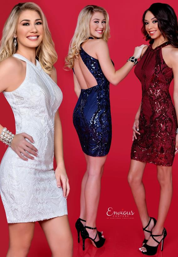 Sequin Burgundy,Navy,White 18516